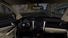 Toyota Camry v55 (устаревшая версия) (1.5.9) - City Car Driving мод (изображение 7)