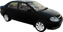 Toyota Corolla E120 2003 (1.5.9) - City Car Driving мод