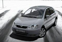 Toyota Corolla E120 2003 (1.5.9) - City Car Driving мод (изображение 2)