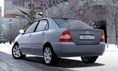 Toyota Corolla E120 2003 (1.5.9) - City Car Driving мод (изображение 3)