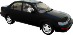 Toyota Corolla XE100 1995 (1.5.9) - City Car Driving мод