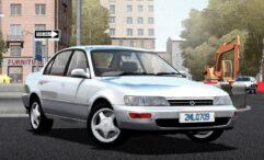 Toyota Corolla XE100 1995 (1.5.9) - City Car Driving мод (изображение 2)