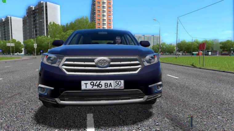 Toyota Highlander (1.5.9) - City Car Driving мод
