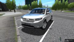 Toyota Highlander (1.5.9) - City Car Driving мод (изображение 3)