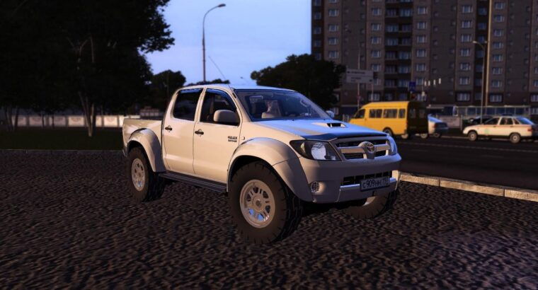 Toyota Hilux (1.5.9) - City Car Driving мод