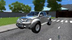 Toyota Hilux (1.5.9) - City Car Driving мод (изображение 3)