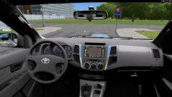 Toyota Hilux (1.5.9) - City Car Driving мод (изображение 5)