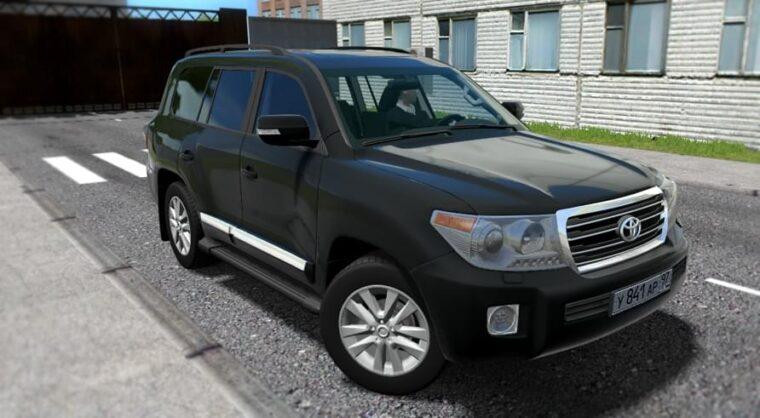 Toyota Land Cruiser 200 (1.5.9) - City Car Driving мод