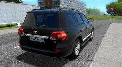 Toyota Land Cruiser 200 (1.5.9) - City Car Driving мод (изображение 3)