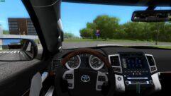 Toyota Land Cruiser 200 (1.5.9) - City Car Driving мод (изображение 4)
