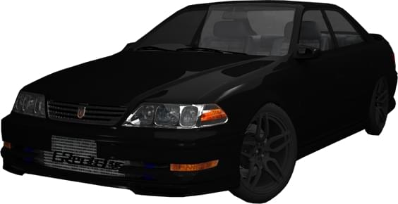 Toyota Mark II Tourer V (1.5.9) - City Car Driving мод