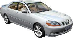 Toyota Mark II X110 2004 (1.5.9) - City Car Driving мод