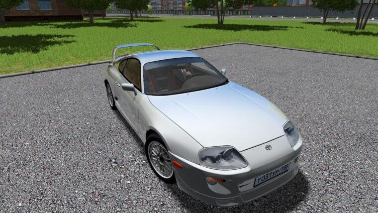 Toyota Supra TRD Turbo (1.5.9) - City Car Driving мод