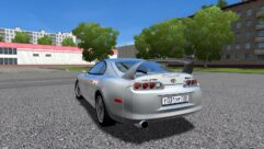 Toyota Supra TRD Turbo (1.5.9) - City Car Driving мод (изображение 2)