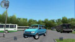 УАЗ 3165M Simba (1.5.9) - City Car Driving мод (изображение 2)