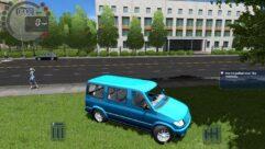 УАЗ 3165M Simba (1.5.9) - City Car Driving мод (изображение 3)
