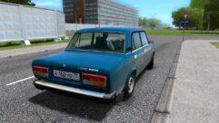 ВАЗ 2107 (1.5.9) - City Car Driving мод (изображение 3)