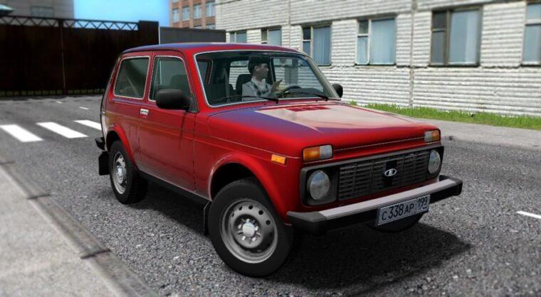 ВАЗ 21214 (Niva) (1.5.9) - City Car Driving мод