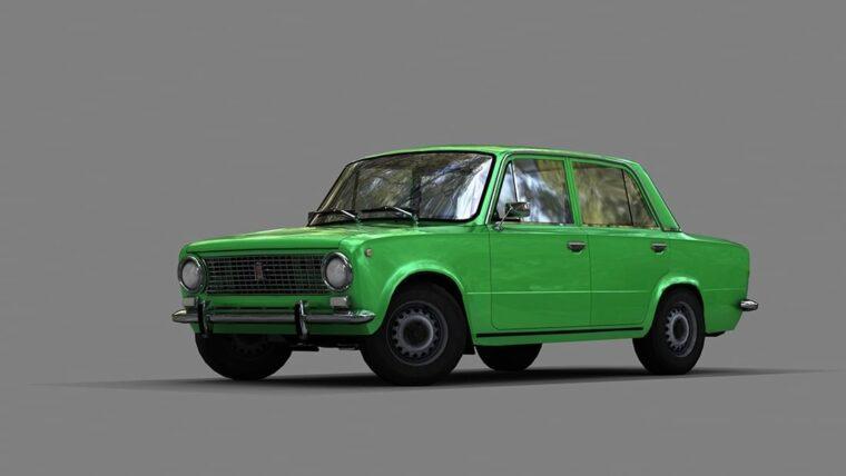 ВАЗ 2101 (1.5.9) - City Car Driving мод