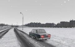 ВАЗ 2101 (1.5.9) - City Car Driving мод (изображение 6)