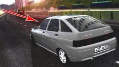 ВАЗ 2112 GVR (1.5.9) - City Car Driving мод (изображение 4)