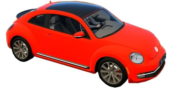 Volkswagen Beetle (1.5.9) - City Car Driving мод