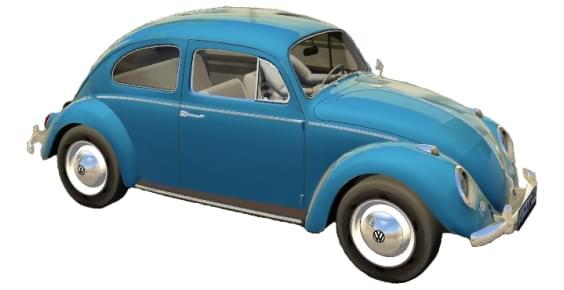 Volkswagen Beetle (Fusca) (1.5.9) - City Car Driving мод