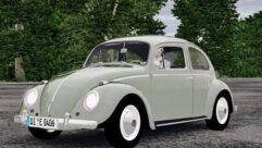 Volkswagen Beetle (Fusca) (1.5.9) - City Car Driving мод (изображение 2)