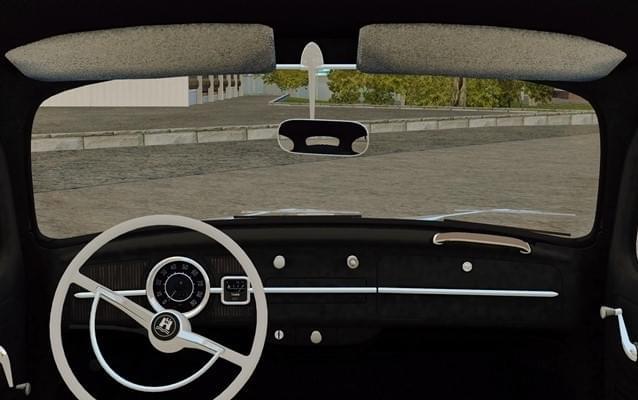 Volkswagen Beetle (Fusca) (1.5.9) - City Car Driving мод (изображение 3)