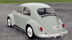 Volkswagen Beetle (Fusca) (1.5.9) - City Car Driving мод (изображение 4)