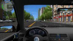 Volkswagen Bora (1.5.9) - City Car Driving мод (изображение 5)