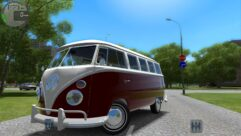 Volkswagen Camper (Kombi) (1.5.9) - City Car Driving мод (изображение 2)