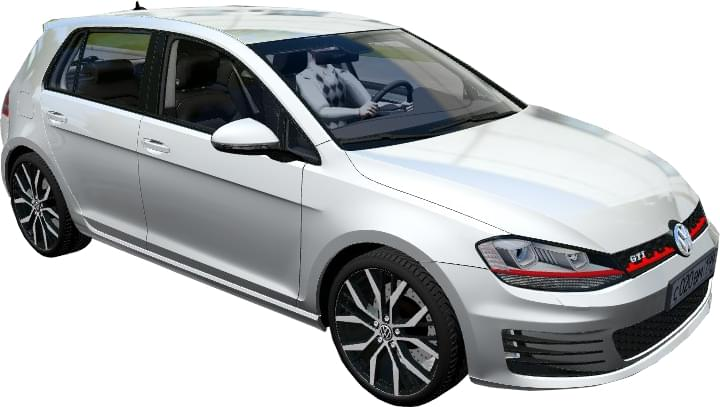 Volkswagen Golf GTI 2014 (1.5.9) - City Car Driving мод