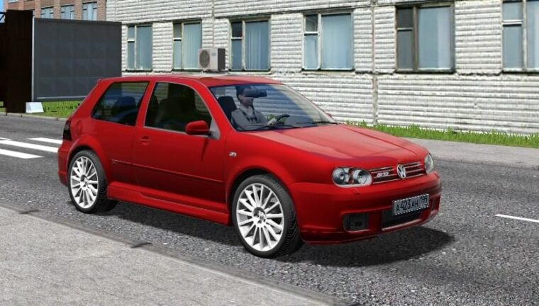Volkswagen Golf R32 (1.5.9) - City Car Driving мод