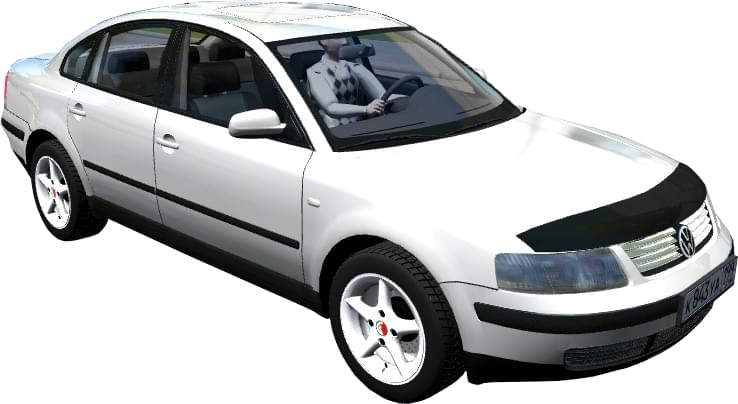 Volkswagen Passat B5 2000 (1.5.9) - City Car Driving мод