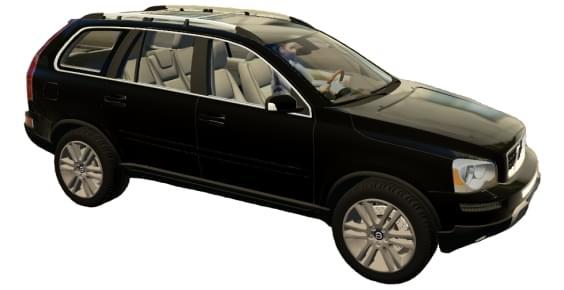 Volvo XC90 (1.5.9) - City Car Driving мод