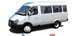 ГАЗ 32217 (1.5.9) - City Car Driving мод