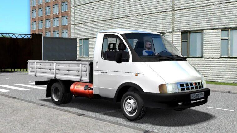 ГАЗ 33021 (1.5.9) - City Car Driving мод