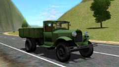 ГАЗ АА (1.5.9) - City Car Driving мод (изображение 2)