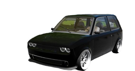 Лада Ока (ДОДЖ) (1.5.9) - City Car Driving мод