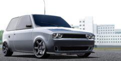 Лада Ока (ДОДЖ) (1.5.9) - City Car Driving мод (изображение 2)