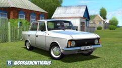 Москвич 412 (1.5.9) - City Car Driving мод (изображение 2)