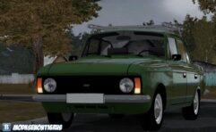 Москвич 412 (1.5.9) - City Car Driving мод (изображение 3)