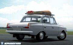 Москвич 412 (1.5.9) - City Car Driving мод (изображение 5)
