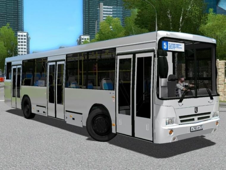 НефАЗ 5299 (1.5.9) - City Car Driving мод