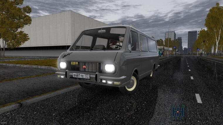 РАФ-2203 (1.5.9) - City Car Driving мод