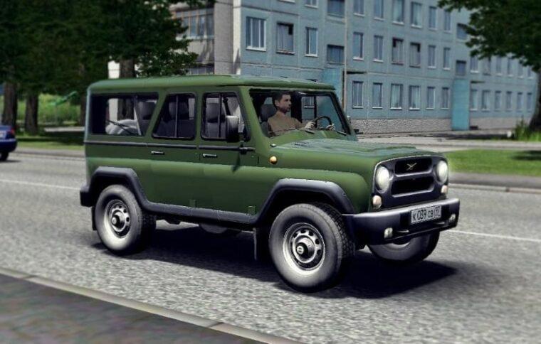 УАЗ 3153 (1.5.9) - City Car Driving мод