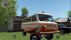 УАЗ 450 (1.5.9) - City Car Driving мод (изображение 3)