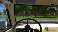 УАЗ 450 (1.5.9) - City Car Driving мод (изображение 4)