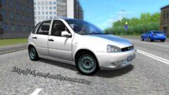 ВАЗ 1119 (1.5.9) - City Car Driving мод